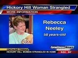 Hickory Hill Woman Strangled In Home