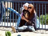 Isla Fisher And Daughter Olive Enjoy