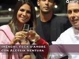 Inzaghi, Fuga D'amore Con Alessia Ventura