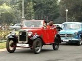 India Holds Annual Vintage Car Rally In Tamil Nadu