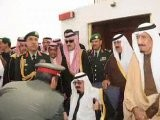 SAUDI KING BACK HOME