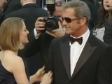 Jodie Foster And Mel Gibson Get Warm Welcome At Cannes