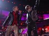 Justin Bieber, Usher - Baby Never Say Never OMG GRAMMYs On CBS Ft. Jaden Smith