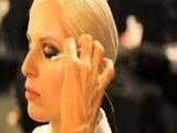 Karolina Kurkova Getting Make-Up