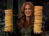 Late Night With Jimmy Fallon Isla Fisher