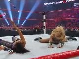 Layla Vs. Michelle McCool Kharma Debut