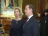 Medvedev Congratulates Patriarch Kirill On Anniversary