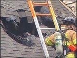 Neighbors Say Morning Fire May Be Storm-related