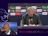 Rueda De Prensa De Alex Ferguson Final Champions League 2011