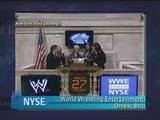 Stephanie & Linda Mcmahon Ring NYSE Opening