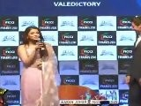 Sexy Aishwarya Rai Looks Hot In Saree At FICCI Frames 2011