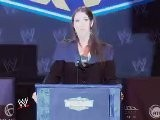 Stephanie McMahon At The Press Conference
