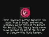 Salma Hayek And Antonio Banderas At The Cannes Film Festival On Celebrity Wire