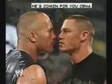 The Rock Vs. John Cena Vs. Stone Cold Vs