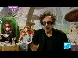 Tim Burton In Wonderland With Johnny Depp