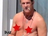 TMZ On TV Mel Gibson Goes Topless In Cannes