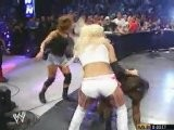 Torrie Wilson And Nidia Vs Shaniqua Smackdown 9.18.2003