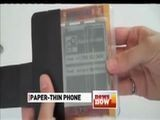 Ultra-thin 'PaperPhone' Bends To User's Will