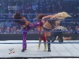WWE Smackdown 2 18 11 Eve & Beth Vs Layla &