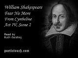 William Shakespeare - Fear No More