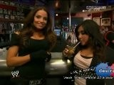 WWE Raw 3 28 11 Trish Stratus & Snooki Vs
