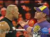WWE Raw 3 28 11 John Cena Vs The Rock Vs
