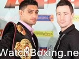Watch Paul McCloskey Vs Amir Khan Ppv