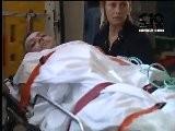 05.06.2010 INCIDENTE VALENTINO ROSSI ARRIVO ALL&#039 OSPEDALE DI FIRENZE CANALE 10