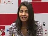 Beautiful Shruti Sings ' Tujhe Bhula Diya' From ' Anjana Anjaani' At Press Meet