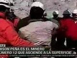 Edison Peñ A, Minero Numero 12 En Salir A La Superficie