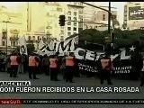 Gobierno Argentino Recibe A Ind&iacute Genas Qom