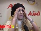 JENNA JAMESON Interview At All About Aubrey Premiere Party