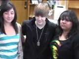 Justin Bieber Caught Kissing Baby Music Video Girl!!