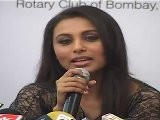 Sexy Rani Mukherji In Lace Blouse & Low Waist Skirt At Kokilaben Hospital
