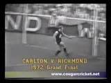 1972 VFL Grand Final: Carlton V Richmond
