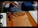 1950 Close Up Woman' S Hands Removing Shortcake From Pan + Putting It On Racks To