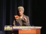 Atlanta Mayor Shirley Franklin Receives Ethics Advocate Award