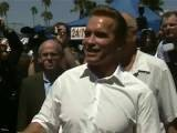 Arnold Schwarzenegger Visits Venice Muscle Beach For Labor Day Female Figure & A Bodybuilding Contest