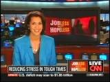 Asha Praver CNN Interview Reducing Stress In Tough Times