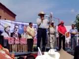 Andres Manuel Lopez Obrador En Valle De Santiago Guanajuato, 15-Agosto-2008
