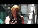 Amanda Tapping With Sanctuary Fan
