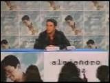 Alejandro Sanz Rueda De Prensa