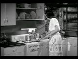 B W 1948 Housewife At Stove Cooking Industrial