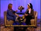 Celebrity , TV Star & BraveHeart Woman Lindsay Wagner & Ellie Drake Share