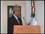 Conferencia AMLO Presenta Nuevos Contratos De Mouriño 10 MARZO 2008