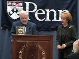 Clery Award Presentation To University Of Pennsylvania