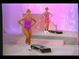 Denise Austin Purple Leotard