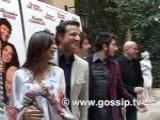 Exclusive - Sexy Elisabetta Canalis Con Il Cast Di Natale A New York
