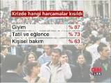 Halkın % 64&#39 ü Krize Karşı Harcamalarını Kıstı
