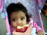KK Loves Her Apple